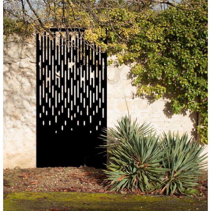 l 39 averse brise vue d coratif ext rieur panneaux m tal et objets d co acier. Black Bedroom Furniture Sets. Home Design Ideas
