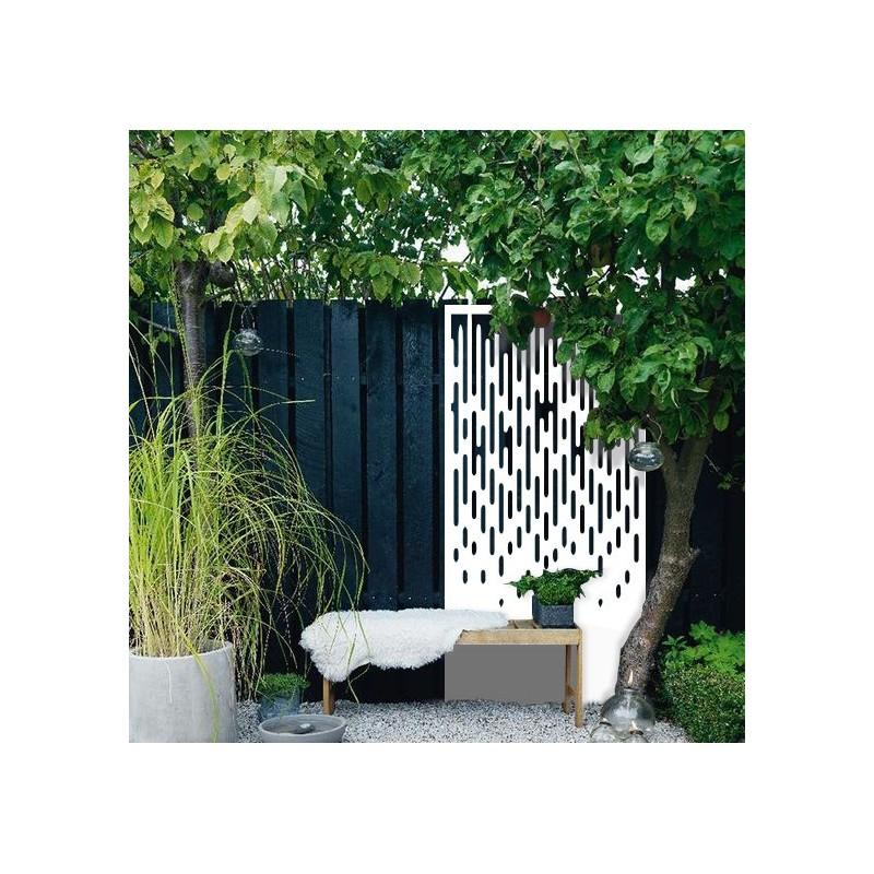 l 39 averse brise vue d coratif ext rieur panneaux m tal et. Black Bedroom Furniture Sets. Home Design Ideas