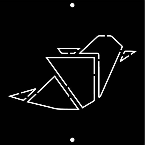 tableau métal aluminium noir graphite - Décor Acier