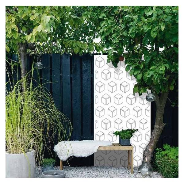 le 3d panneau acier design panneaux m tal et objets d co acier. Black Bedroom Furniture Sets. Home Design Ideas