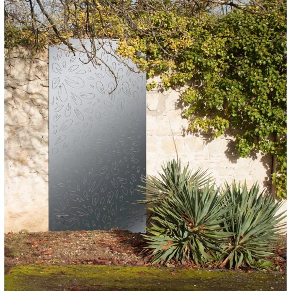 p tales plaque murale cache mur panneaux m tal et objets d co acier. Black Bedroom Furniture Sets. Home Design Ideas