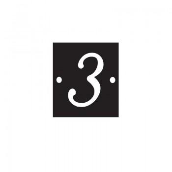 Numéro de voie 3 - T1