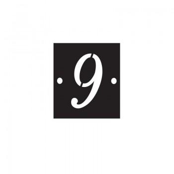 Numéro de voie 9 - T1