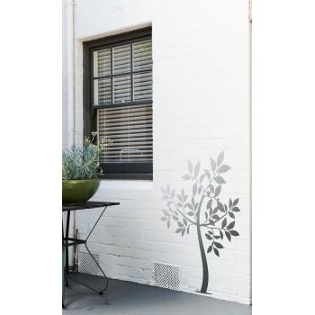 Citronnier, décor mural acier